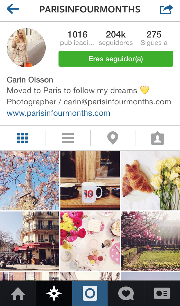 paris in 4 months instagram1