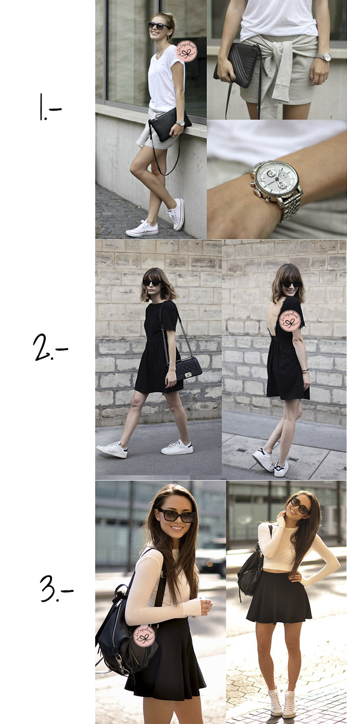 looks con zapatillas blancas trend trendy blog