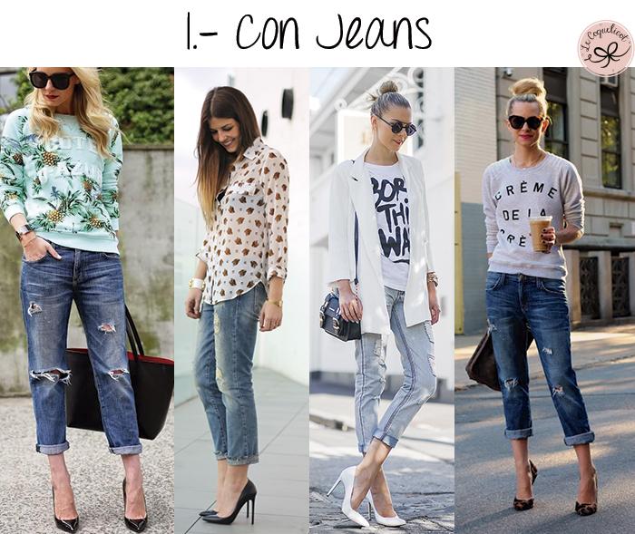 stilettos con jeans 23
