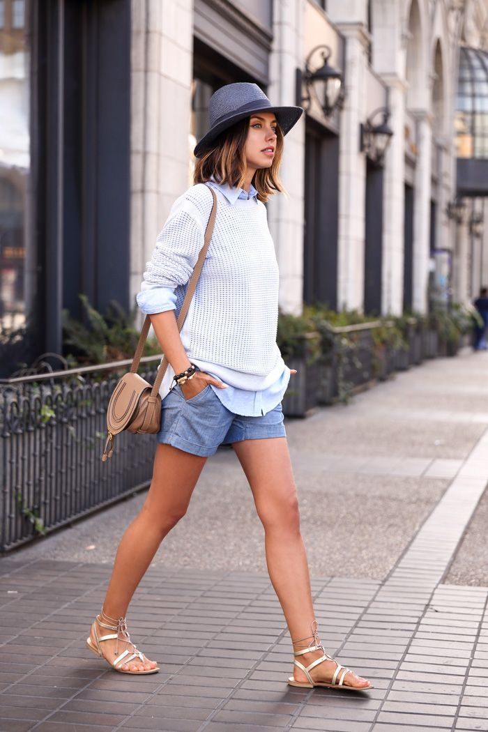 crew-neck-sweater-dress-shirt-shorts-gladiator-sandals-crossbody-bag-hat-bracelet-original-11143